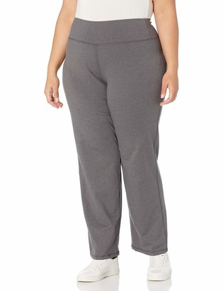 Fruit of the Loom Fit for Me Women's Plus Size Relaxed Fit Yoga Pant