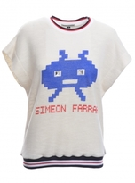 Simeon Farrar Cotton Sweat Top with Alien