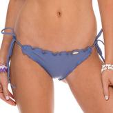 Luli Fama Wavey Brazilian Tie Side Bottom In Blue moon (L17602)