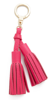 Kate Spade Double Leather Tassel Keychain