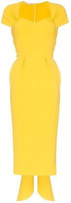 Stella McCartney Amal cap sleeve midi dress