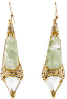 Alexis Bittar Quartz & Crystal Drop Earrings