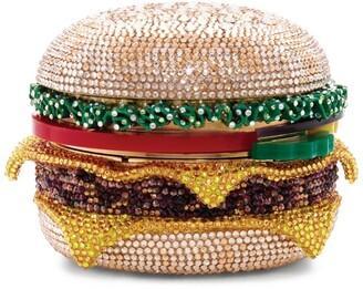 Judith Leiber Hamburger Clutch Bag