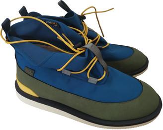 Suicoke Blue Synthetic Boots