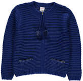 Little Karl Marc John Gaderny Large Knit Zip-Up Cardigan