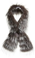 Fabiana Filippi Women's Embellished Genuine Fox Fur Collar