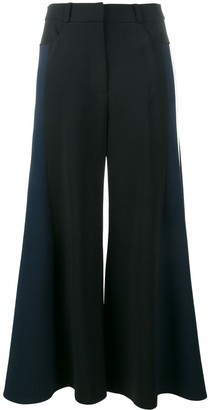 Peter Pilotto Cropped Wide-Leg Trousers