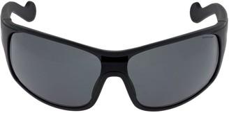 Moncler Mask Sunglasses W/ Polarized Lenses