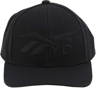 Reebok x Victoria Beckham EMBROIDERED ACRYLIC BLEND BASEBALL HAT