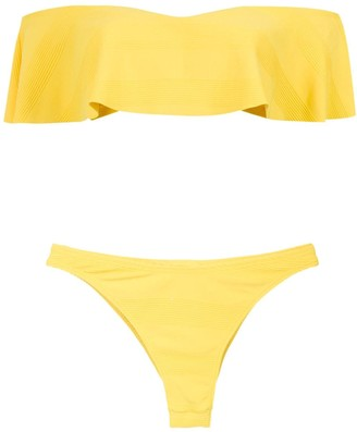 AMIR SLAMA Off The Shoulder Bikini Set