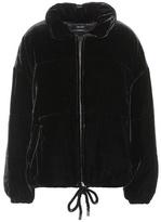 Isabel Marant Telima velvet coat