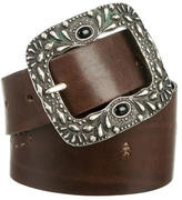 Henry Beguelin Leather Waist Belt