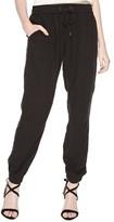 Sanctuary Women's Linen Blend Jogger Pants