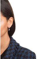 Diane Kordas 18kt Rose Gold Earrings with White Diamonds
