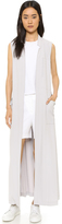 DKNY Pure Long Trench Vest