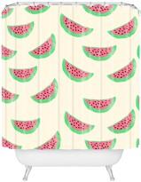 Deny Designs Allyson Johnson Sweet Watermelons Shower Curtain