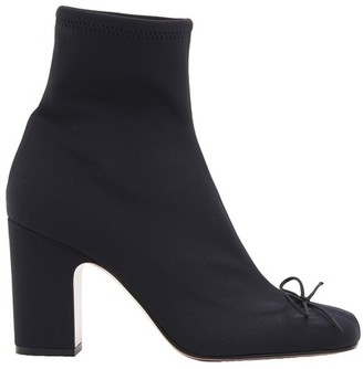 RED Valentino Stretch ankle boots with buckle