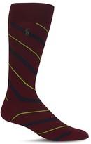 Polo Ralph Lauren Diagonal Multistripe Dress Socks