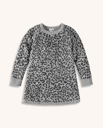 Splendid Little Girl Leopard Knit Dress