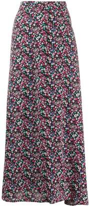Essentiel Antwerp Floral Print Maxi Skirt