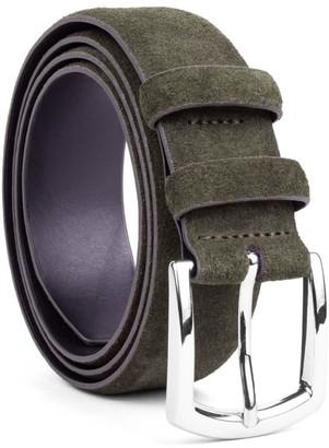 Dalgado Handmade Leather Belt Green Giuseppe