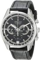 Zenith Men's 03.2040.400/21.c496 El Primero 36'000 VPH Sunray Patterned Chronograph Dial Watch