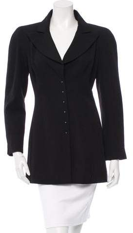 Chanel Fitted Wool Blazer