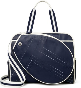 Tory Burch Convertible Perforated-T Tennis Tote