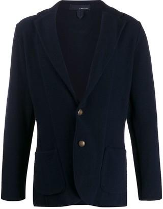 Lardini button-down long-sleeve cardigan