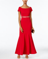 Alex Evenings Off-The-Shoulder Embellished Mermaid Gown