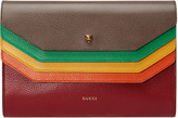 Gucci GucciTotem leather portfolio