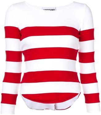 Moschino Striped Sweatshirt