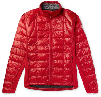 Canada Goose HyBridge Lite Slim-Fit Quilted Nylon Down Jacket - Men - Red