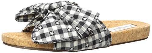 Sugar Women's Xenon Cork Flat Bow Sandal Slide