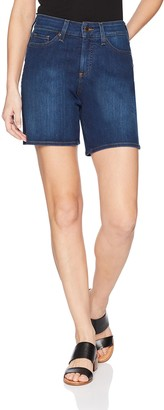 NYDJ Women's Jenna Short with Mini Side Slit
