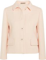 Bottega Veneta Wool-crepe Jacket - Pastel pink