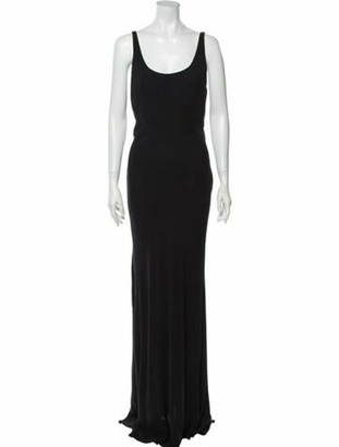Valentino Vintage Long Dress Blue
