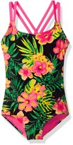 Roxy Little Girls' Tropics One Piece
