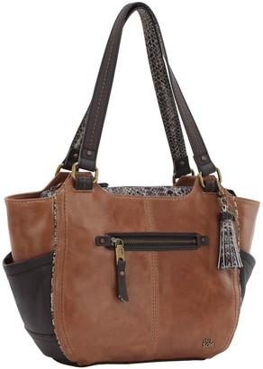 The Sak Kendra II Leather Satchel Handbag