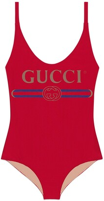 "Gucci ""Original print swimsuit"