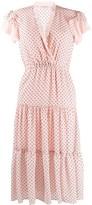 Philosophy di Lorenzo Serafini polka-dot flared dress