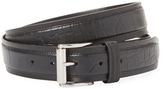 John Varvatos Leather Strip Belt