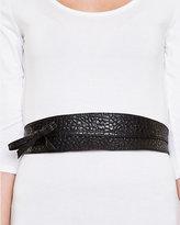 Le Château Leather-Like Wrap-Around Belt