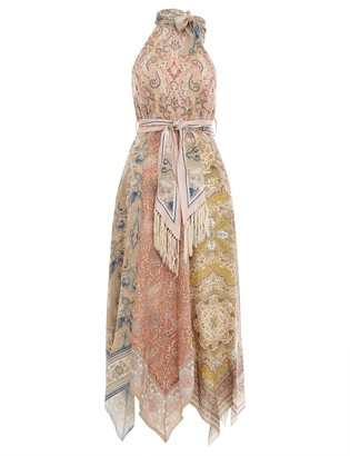 Zimmermann Freja Hanky Hem Long Dress