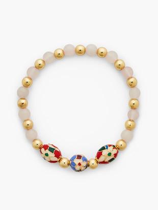 Talbots Cloisonne Stretch Bracelet
