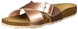Birkenstock Siena, Women's Heels Open Toe Sandals, Brown (Electric Metallic Copper Electric Metallic Copper), (37 EU)