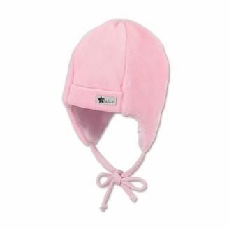 Sterntaler Baby Girls' Mutze Cappellopello Flat Cap