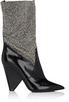 Saint Laurent Women's Niki Leather Ankle Boots