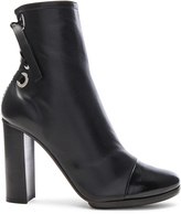 Proenza Schouler Platform Leather Booties