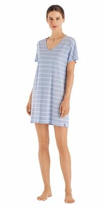 Hanro Women's Laura Short Sleeve Gown